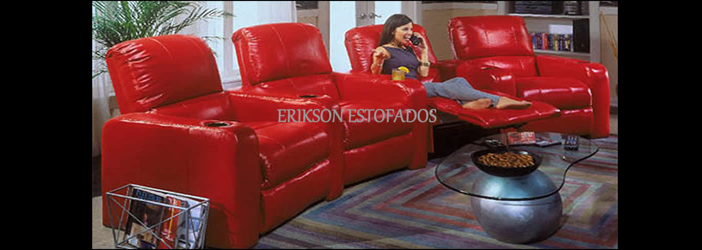sofa para home theater