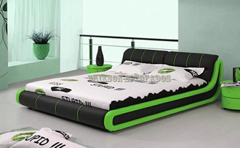 Cama estilo japons placa placa moderna minimalista cama - Cama estilo tatami ...