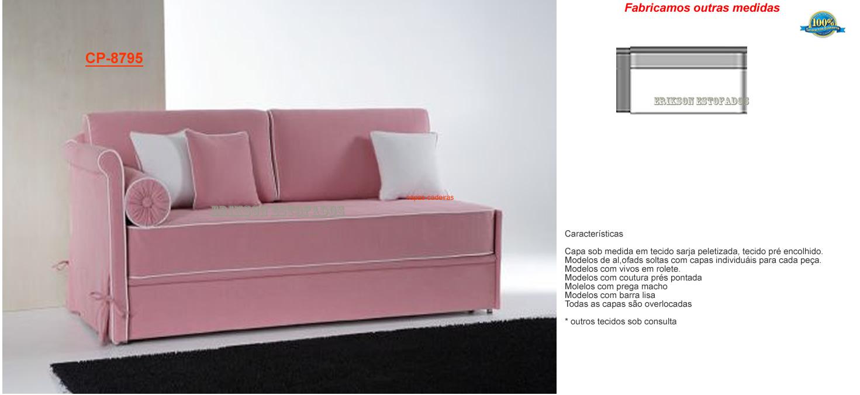 Capas de sofas capas de sofa sob medida capa para sofa for Medidas de sofa cama