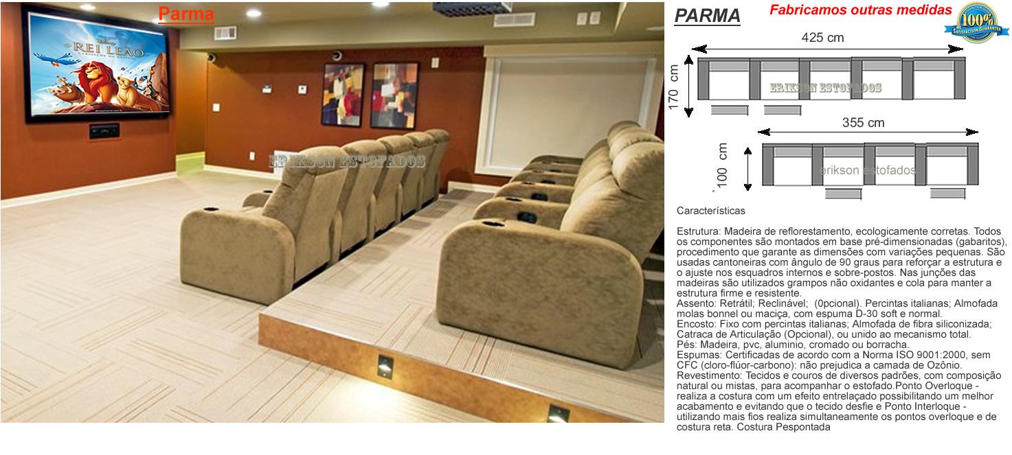 Sof 225 Para Sala De Tv Sofas Para Home Theater E Sala De