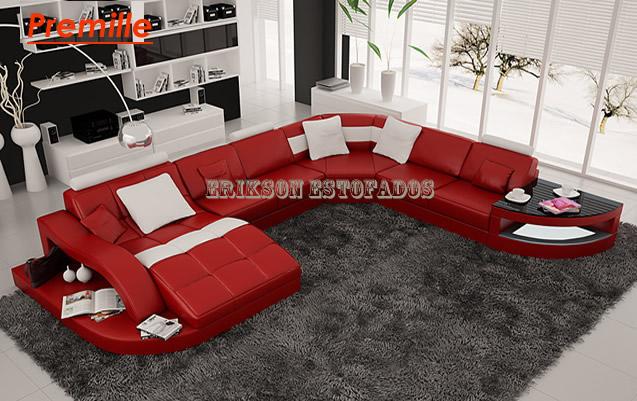 Sof s modernos 50 lindos modelos exclusivos no brasil - Modelos de sofas modernos ...