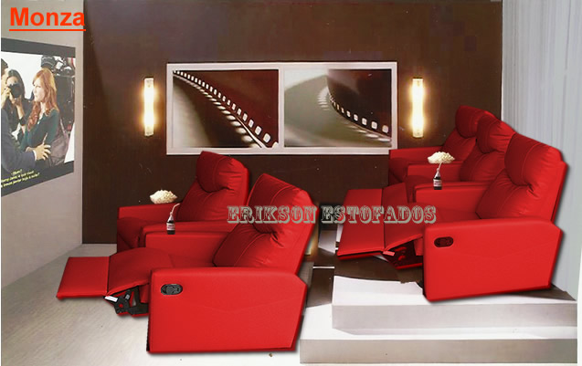 Home Theater E Sala De Tv ~ Sofá para sala de tv  sofas para home theater e sala de cinema, em
